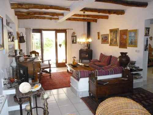 Haus auf Ibiza mit Meerblick