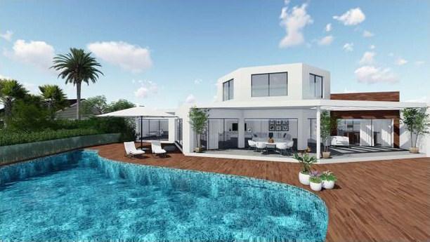 Sanierung einer Villa im andalusischen Stil